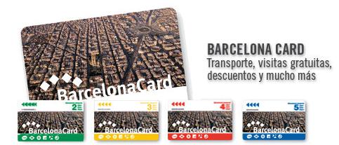 Tarjeta turística Barcelona, Barcelona Card