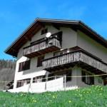 Casa de vacaciones en los Alpes suizos