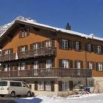 Estudio en los Alpes suizos para dos personas