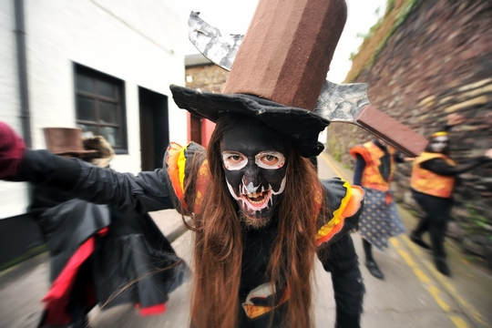 Desfile halloween Irlanda