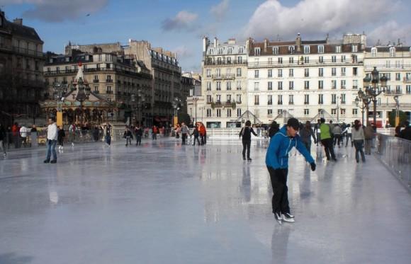 Patinaje sobre hielo Paris